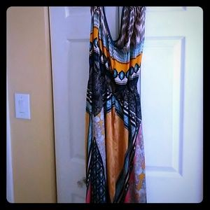 New halter top maxi dress
